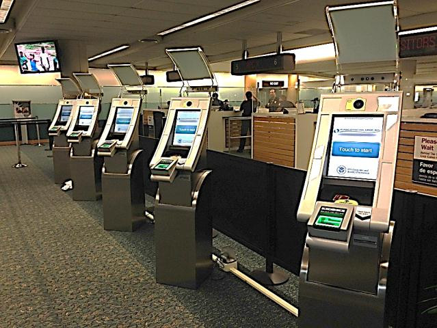 Automated Passport Control Kiosks
