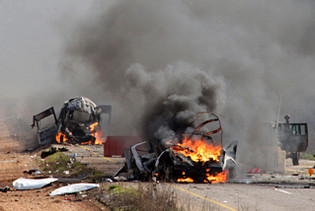 ON THE BRINK :  Deadly conflict erupts btwn Israel & Lebanon