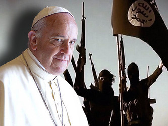 ISIS VOWS TO CONQUER ROME :  Vatican call for ' military action '