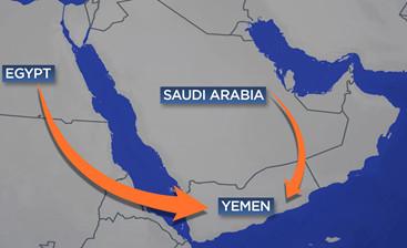 Sunni assault on Yemen..jpg