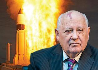 "NUCLEAR WW3 -- Gorbachev warns of US-Russian "" Hot War """
