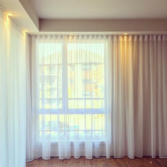 Habillages de fenêtres chics et simples