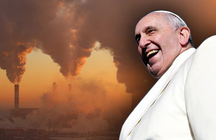 FALSE PROPHET GOES GREEN :  Holy edict ... on climate change !!