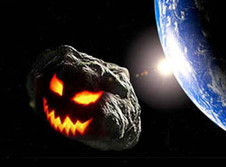 HALLOWEEN NIGHT ASTEROID : Is there a spooky back-story ??