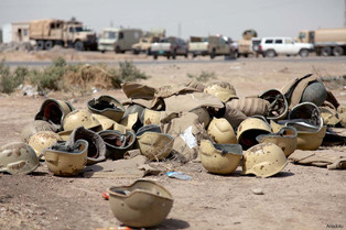 THE FALL OF RAMADI TO ISIS :  Iraqi army flees without a fight