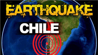 CHILE'S DEADLY EARTHQUAKE : 10 Killed, one million evacuated