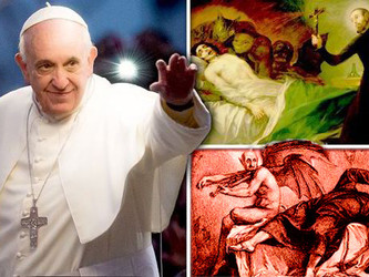 THE POPE , THE DEVIL & EXORCISM : God's coming judgment on Vatican sorceries