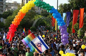 TEL AVIV GAY PRIDE PARADE :  Biggest ever in the ' Holy ' Land