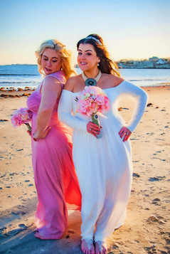 fun wedding photography Newport, RI
