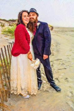 unique wedding photography Newport, RI
