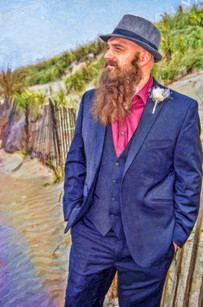 artistic wedding photography Newport