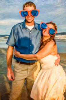 fun wedding photography Newport RI