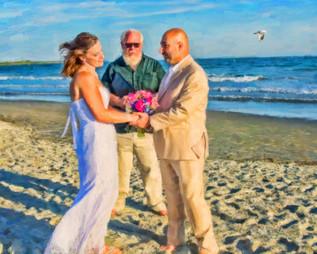 wedding officiant Newport RI