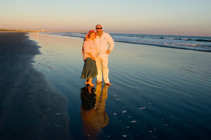 Don and Kathy on Beach