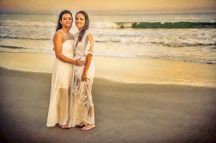 lesbian wedding Rhode Island