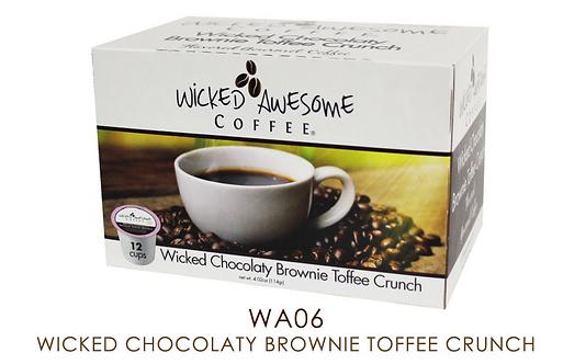 Wicked Chocolaty Brownie Toffee Crunch
