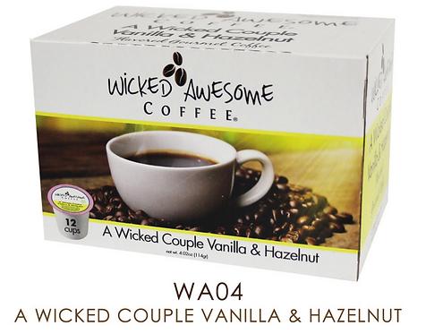 A Wicked Couple Vanilla & Hazelnut
