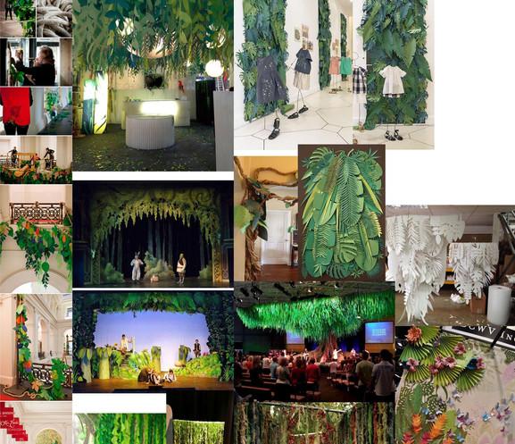 TARZAN - Papercraft Jungle