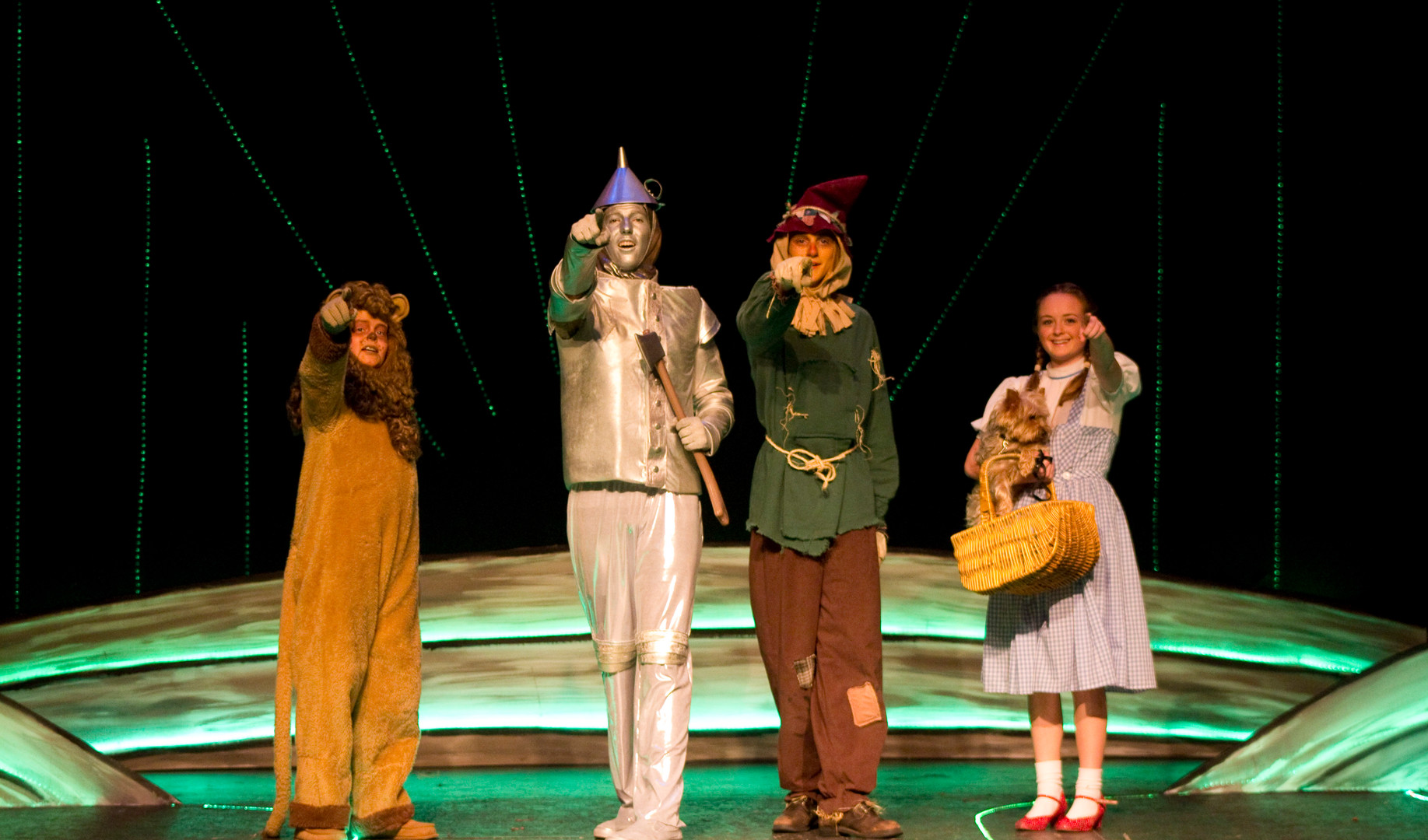 """""""OFF TO SEE THE WIZARD"""""""