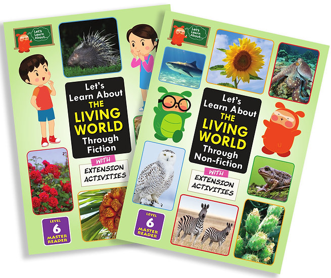 Let's Learn About the Living World (Fiction and Non-Fiction兩本) 適用於小六學生