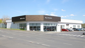 Dealerství Hyundai Cheb (2021)