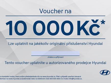 Získejte voucher na 10 000 Kč!