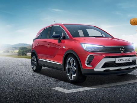 Opel Crossland COOL již za 359 990 Kč.