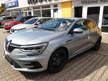 Skladem: Renault Mégane se slevou 39 600 Kč
