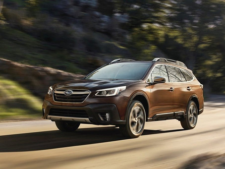 Novinka 2021: Subaru Outback