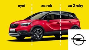 Opel Crossland X SMILE. Nyní za 117 000 Kč.