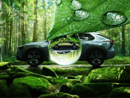 Subaru SOLTERRA - zcela nové Elektrické SUV