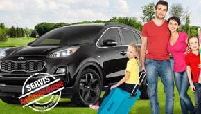 Akční servisní nabídka: Připravte svůj vůz na dovolenou!