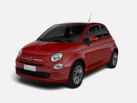 Skladem ihned k odběru: Fiat 500 Lounge