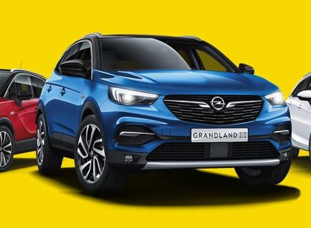 Akční ceny na vybrané modely Opel