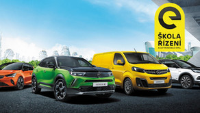 Škola řízení elektromobilů Opel zdarma