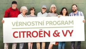 Věrnostní program Citroën a Vy