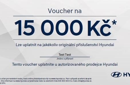 Bonus až 15 000 Kč za online předobjednávku.