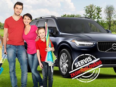 Akční servisní nabídka: Připravte svoje Volvo na dovolenou!