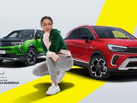 Eva Burešová doporučuje SUV modely Opel