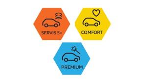 3 nové úrovně servisních prohlídek