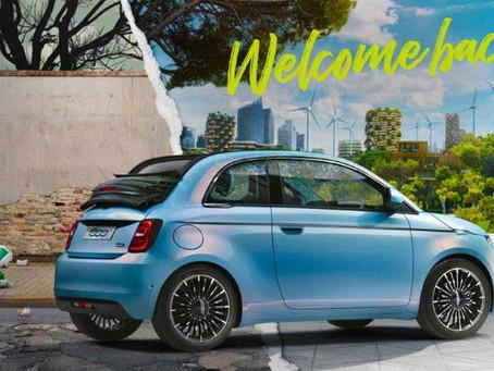Nový elektrický Fiat 500