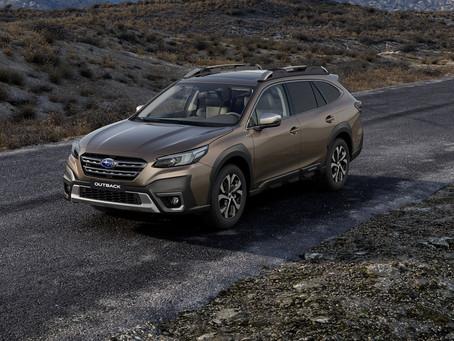Nové Subaru Outback 2021