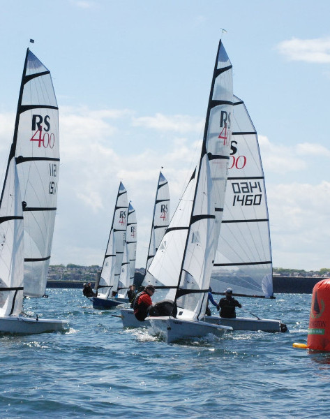 Dinghy Race in Barmouth This Weekend !