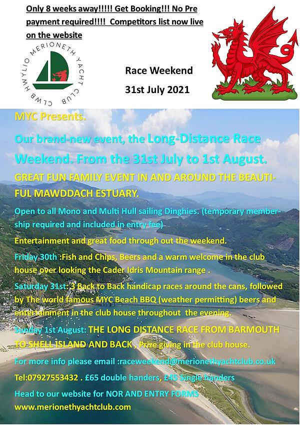 Race week end Flyer MYC latest 8 weeks t