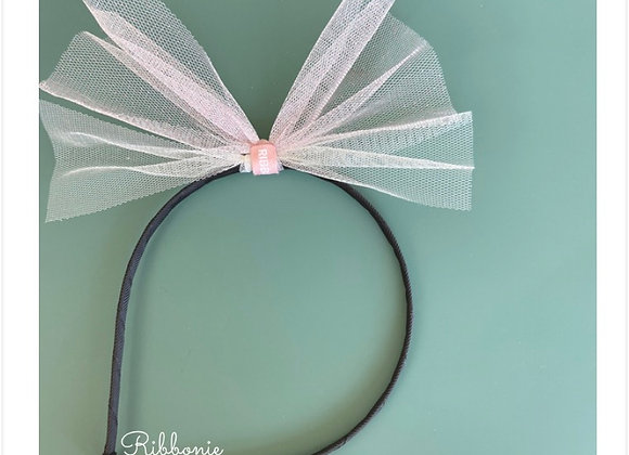 Big Tulle Bow Headband