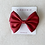 Thumbnail: School Girl Hair Pieces - Double Butterfly Bow