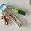 Thumbnail: Ribbonie Key Ring - Rabbit, Bear