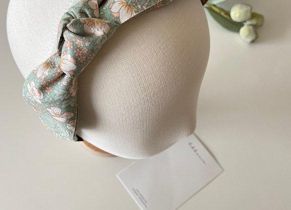 Green Flower Headband