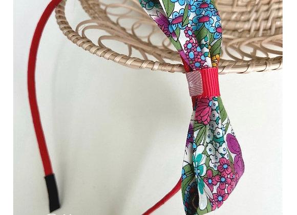 Summer Flower Liberty Bow Headband