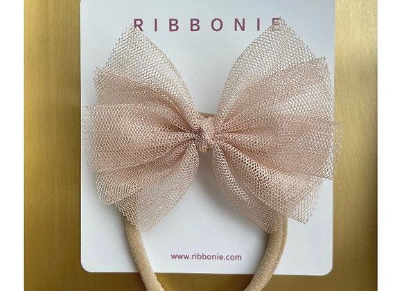 Baby Cute Tulle Bow Soft Headband
